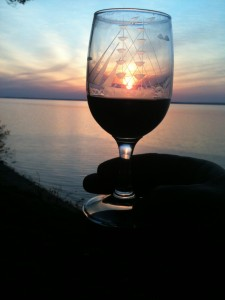 CHHOA chesapeake haven sunset